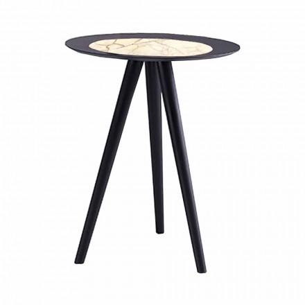 Tavolinë kafeje moderne me majë të rrumbullakët në Gres Prodhuar në Itali - Stuttgart