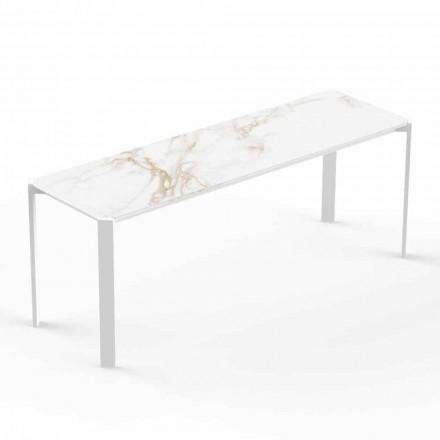 Tavolinë kafeje e Brendshme ose e Jashtme Moderne në Alumini - Tablet nga Vondom