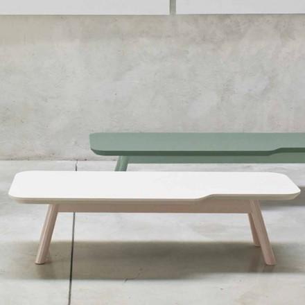 Tavolinë kafeje e çmuar në dru të ngurtë të hirit të prodhuar në Itali - Ulm