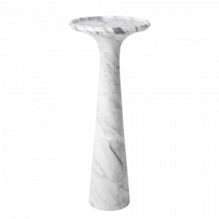 Tavolinë kafeje me Rrumbullakët në Mermer të Bardhë Carrara - Udine