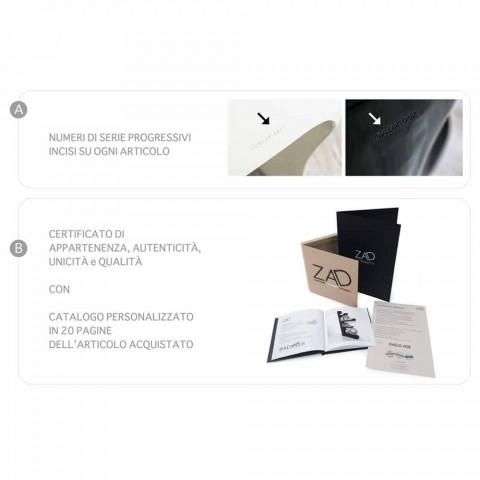Dizajnoni tryezën e kafesë në Adamantx® DAM Made in Italy