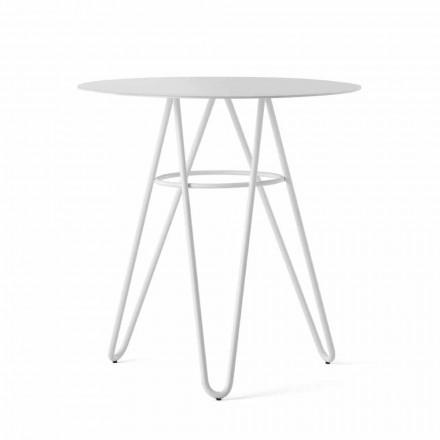 Tavolinë kafeje në natyrë të Çmuar në HPL dhe Metal të Bardhë Prodhuar në Itali - Dublin