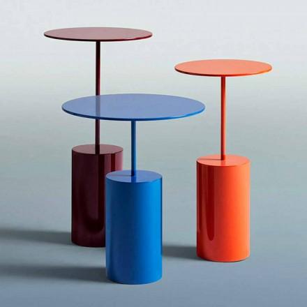 Dizajn modern Tavolina me ngjyrë të rrumbullakët për dhomën e ndenjes - Koktej