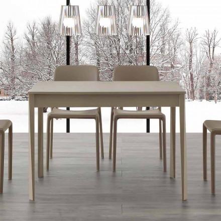Tavolinë moderne e zgjatshme me këmbë në Empoli prej druri të ngurtë