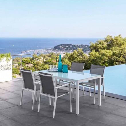 Tavolinë ngrënieje e zgjeruar Maiorca nga Talenti, dizajn modern