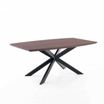 Dizajnimi i tabelës së zgjatshme në Mdf dhe metal - Torquato