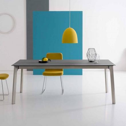Dizajnimi i tabelës së zgjatur në alumin, e bërë në Itali - Arnara