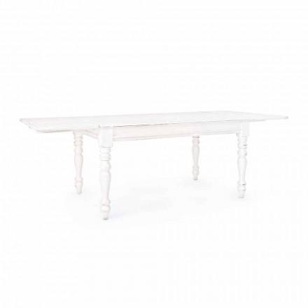 Tavolinë Klasike e Zgjatshme Deri në 240 cm në Mango Wood Homemotion - Tongo