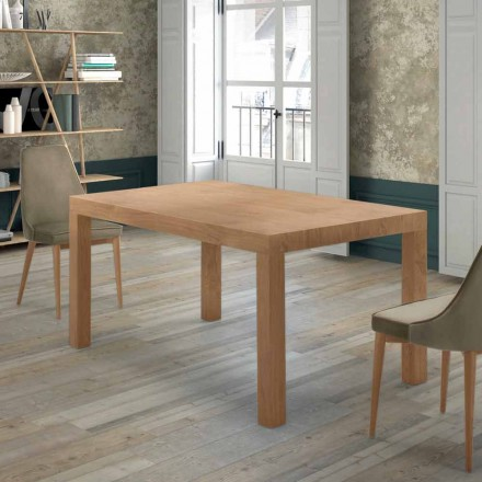 Tabela e zgjatur deri në 470 cm në Venereed Wood Made në Itali - Gordito