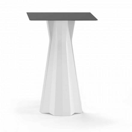 Tavolinë e Lartë me Lartë Hpl dhe Bazë Polietileni Prodhuar në Itali - Tinuccia