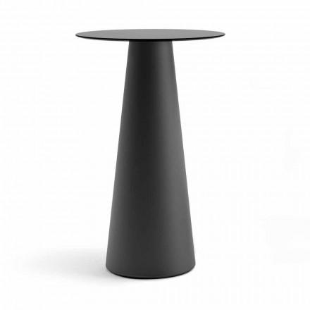 Tavolinë e Lartë e Jashtme me Maja të Rrumbullakët në Hpl Prodhuar në Itali - Forlina