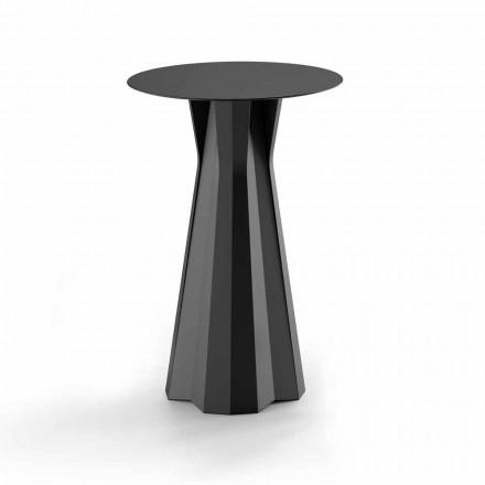 Tavolinë e lartë polietileni me majë të rrumbullakët Hpl Prodhuar në Itali - Tinuccia