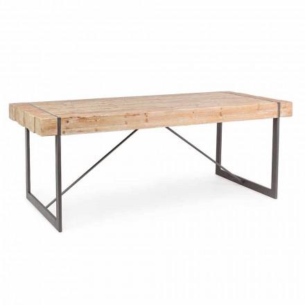 Tabela prej druri të bredhit të stilit industrial Homemotion - Wallie