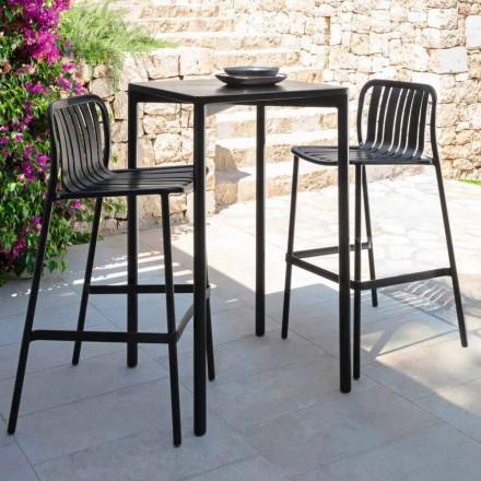 Tavolinë bar trocadero në natyrë nga Talenti, 60x60 në alumin