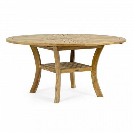 Tabela në natyrë me dru tik me majë qendrore të kthyeshme, Homemotion - Dimitris