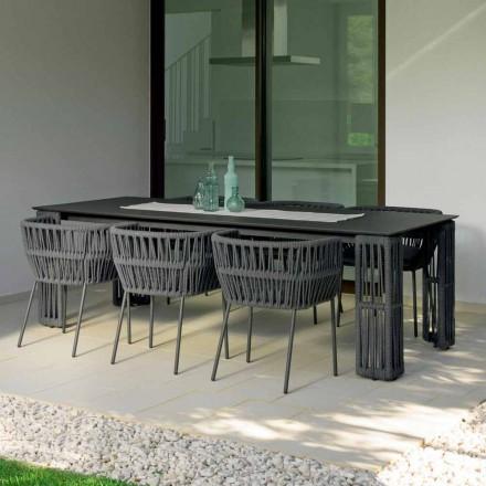 Tavolinë e zgjatur e kopshtit deri në 300 cm Cliff Talenti nga Palomba