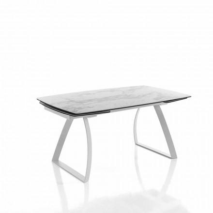 Dizajnimi i tryezës së zgjatjes së ngrënies në qeramike qelqi - Willer