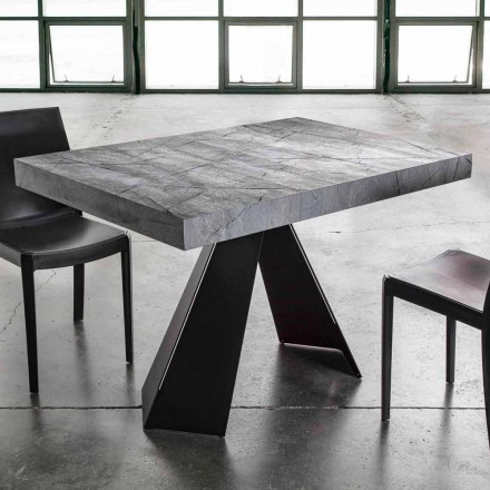 Tavolinë darke e zgjatur Deri në 220 cm me majën e Melaminës - Amiro