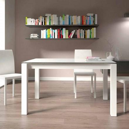 Tavolinë darke e zgjerueshme Deri në 220 cm Dizajn Modern Prodhuar në Itali - Minno