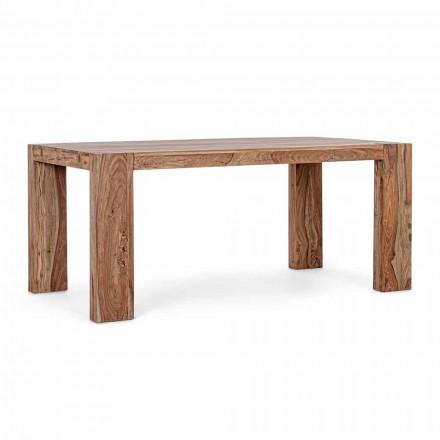 Tavolina për darkë prej druri Homemotion e zgjerueshme deri në 265 cm - Bruce