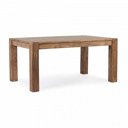 Homemotion - Tavolinë për darkë të zgjatshme nga druri deri në 300 cm