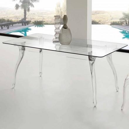 Tavolinë ngrënieje me dizajn modern me xhins të lartë të tundur Xhiny