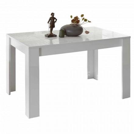 Tavolina për darkë në Melaminë e zgjatur deri në 185 cm Prodhuar në Itali - Aneta