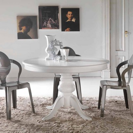 Tavolinë ngrënieje e rrumbullakët me dizajn klasik Oliva