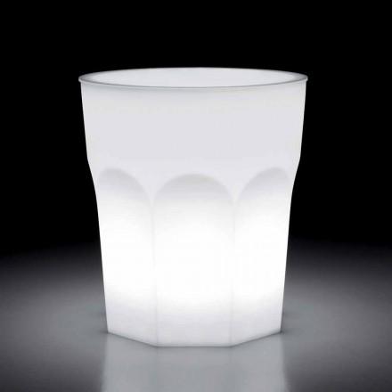 Dizajn në natyrë Tavolinë Ndriçuese në Polietilen dhe Hpl Prodhuar në Itali - Pucca