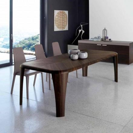 Tabela moderne e projektimit në dru e bërë në Itali me dorë Druri
