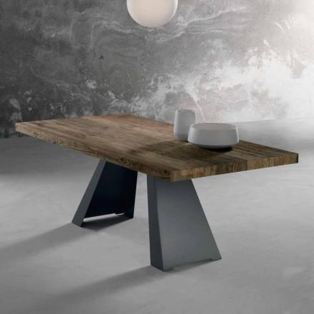 Dizajn tryezë druri të ngurta të bëra në Itali, Zerba