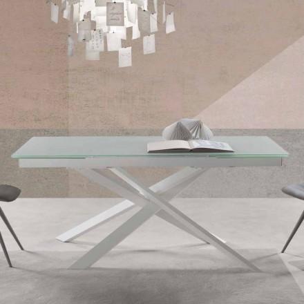 Tabela e zgjatjes me dizajn modern në gotë - Marliana