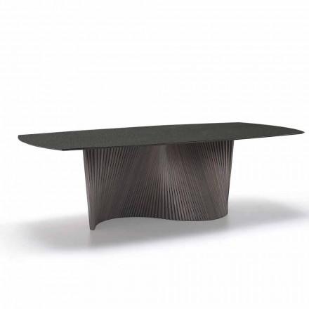 Tavolinë moderne me gurë guri efekti mermeri të bëra në Itali, Adrano