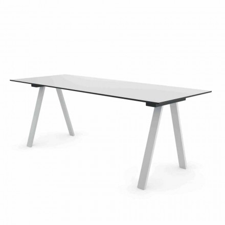 Tabela Moderne për Dizajnin e Jashtëm në Metal dhe HPL Made in Italy - Denzil