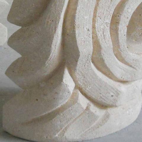 Tavolinë ovale Petra me xhami të lartë modern të projektimit Erinni