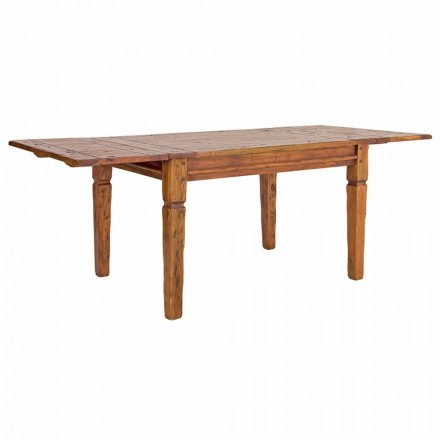 Tavolinë Klasike e Zgjatshme Deri në 290 cm në Lëvizje Lëvizje Druri të Ngurta - Karbo