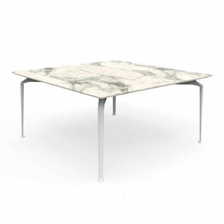 Tavolinë Sheshi për Projektime Moderne në Jashtë dhe Alumin - Lundrim Alu Talenti
