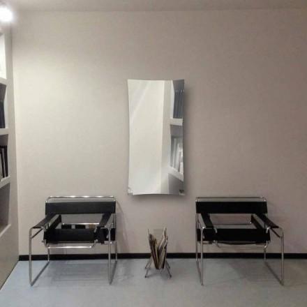 Dizajni modern radiator i pasqyrës me ujë të nxehtë bërë prej qelqi Barry, deri në 709W