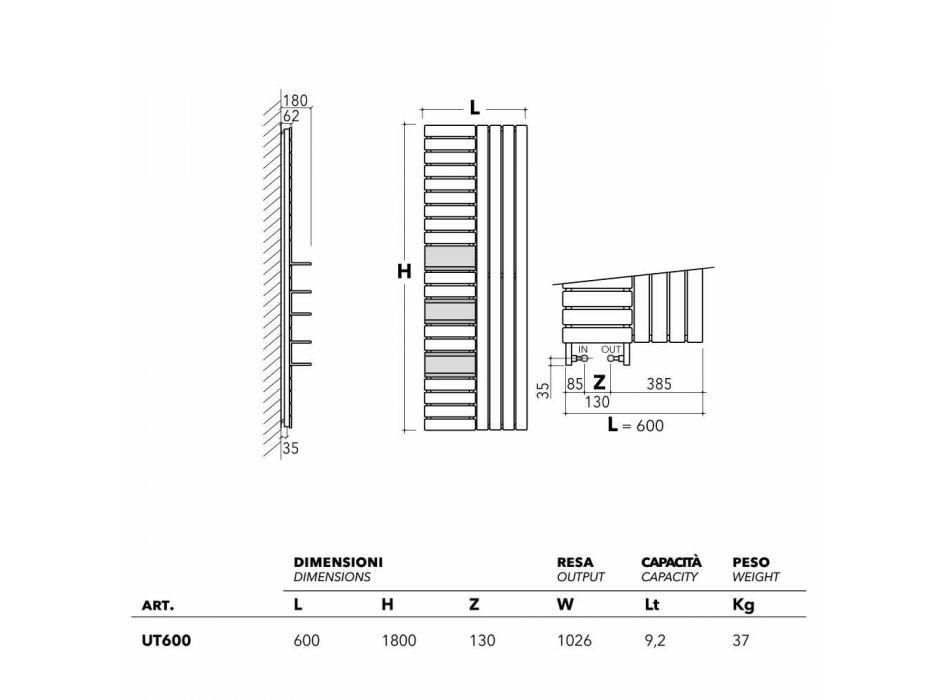 Raft çeliku dizajni hidraulik me rafte Shërbimi Scirocco H