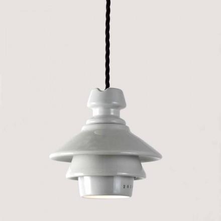 Llambë varëse qeramike Toscot Battersea, dizajn modern i bërë në Itali