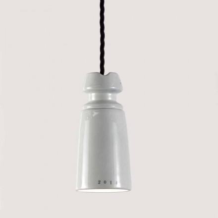 Llambë varëse qeramike e punuar me dorë Toscot Battersea, dizajn italian