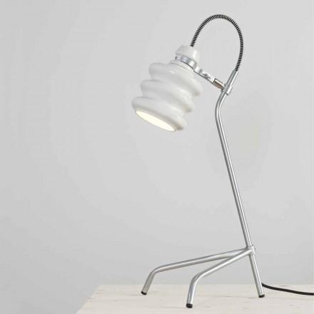 Llambë tavoline qeramike Toscot Battersea, dizajn modern i bërë në Itali
