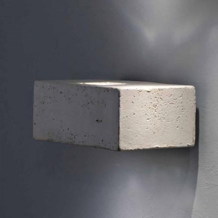 Toscot Smith shkëlqim në mur i jashtëm në mur, dizajn modern i bërë në Toscana
