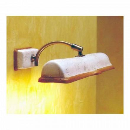 Llambë muri tarracë punuar me dorë Toscot Vinci 2 drita