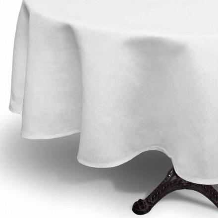 Rrumbullakët me rroba të bardha me krem rrumbullakët punuar në Itali - Bekimi