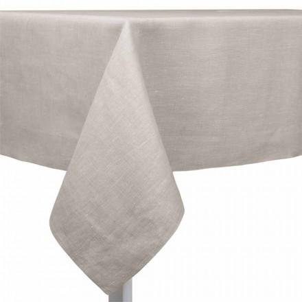 Mbulesë tavoline prej leshi natyral, drejtkëndor ose katror të bërë në Itali - lulekuqe