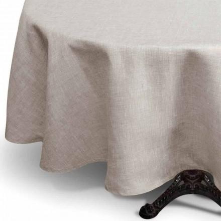 Mbulesë tavoline me rrumbullakët me ngjyra natyrale të rrumbullakëta të bëra në Itali - Bekimi