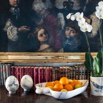 Dekor mesatar i vezëve në mermer Paonazzo Dizajn elegant i prodhuar në Itali - Olimo