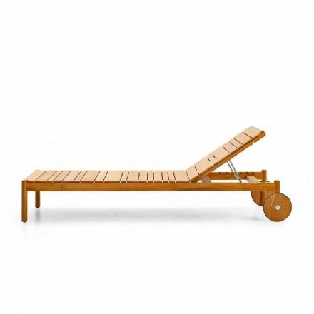 Kopsht i mbuluar nga dielli me rrota të bëra prej druri tik Barkodi nga Varaschin