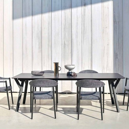 Tavolinë kopshtesh e gjërë, H 65 cm, gjatësi deri në 350 cm, Link Varaschin